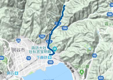 中山道24 JR下諏訪駅⇒下諏訪宿⇒樋橋バス停
