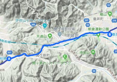 中山道6 柏原宿⇒今須宿⇒関ケ原宿⇒垂井宿