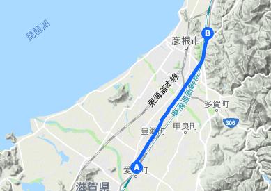 中山道4 愛知川宿⇒高宮宿⇒鳥居本宿