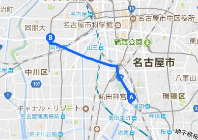 佐屋街道1 熱田神宮⇒岩塚