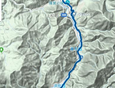 中山道17 JR大桑駅~須原宿~上松宿