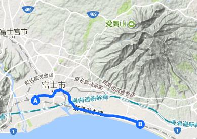 東海道 25 富士⇒原