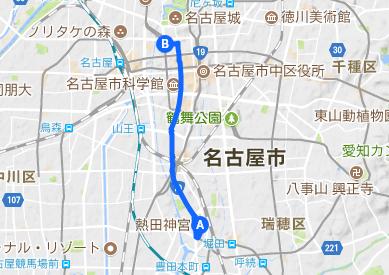 美濃路6 五条橋~熱田神宮
