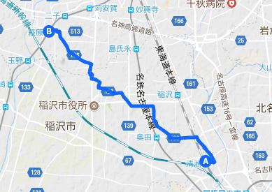 美濃路4 萩原~清洲