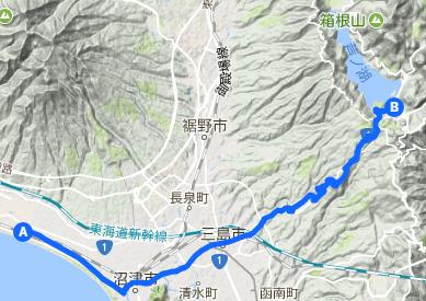 東海道 26 原⇒箱根