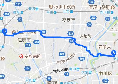 佐屋街道2 岩塚~津島