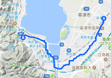 東海道7 草津⇒大津