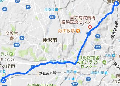 東海道 30 茅ヶ崎⇒戸塚