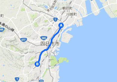 東海道2 富田~日永追分