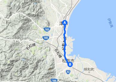伊勢街道3 津⇒松阪