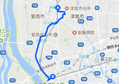 佐屋街道3 津島~弥富