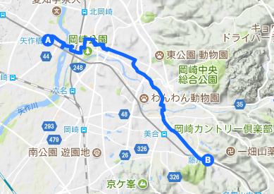 東海道11 矢作橋⇒藤川