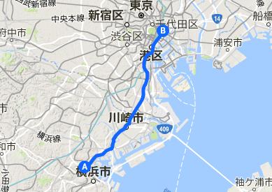 東海道 32 横浜~日本橋